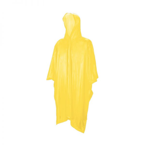 Yellow Emergency Rain Coat Adult - Pack of 10