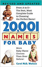 Load image into Gallery viewer, 20,001 Names For Baby: Revised and Updated - USED