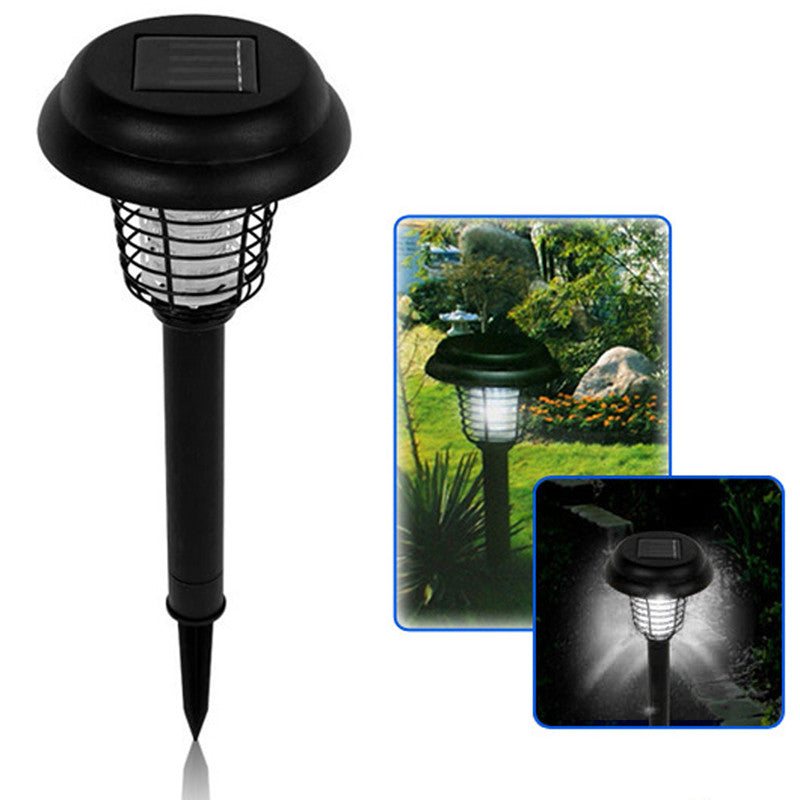 Solar Powered Garden Light & Bug / Insect Zapper Repellent - Awesome Imports - 2