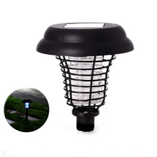Load image into Gallery viewer, Solar Powered Garden Light & Bug / Insect Zapper Repellent - Awesome Imports - 4