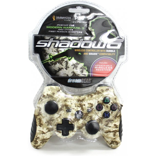 DreamGEAR PS3 Shadow 6 Wireless Controller for Playstation 3