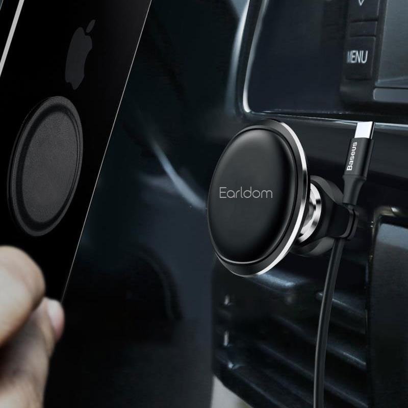 Earldom ET-EH38 Air Vent Car Mount Holder With Cable Clip