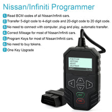 Load image into Gallery viewer, OBDPROG MT003: Nissan/Infiniti Programmer