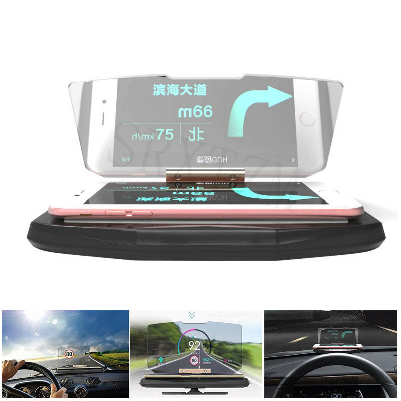 Head up Display Cell Phone Reflector Mount Bracket