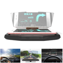 Load image into Gallery viewer, Head up Display Cell Phone Reflector Mount Bracket