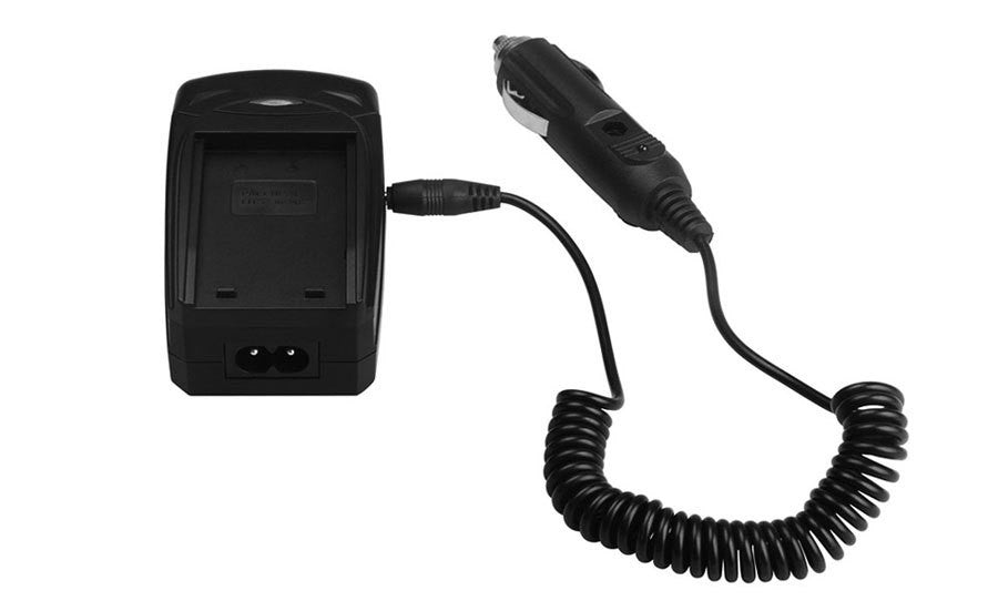 DMW-BLF19 Battery Charger (Car + Desktop) For Panasonic Lumix DMC-GH3 DMC-GH3AGK DMC-GH3GK GH3
