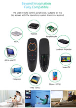 Load image into Gallery viewer, G10 Voice & Air Mouse 2.4GHz Remote Control for Android TV BOX / Smart TV / PC