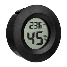 Load image into Gallery viewer, Mihuis SR Digital LCD Thermometer Hygrometer Electronic Temperature Meter - Black