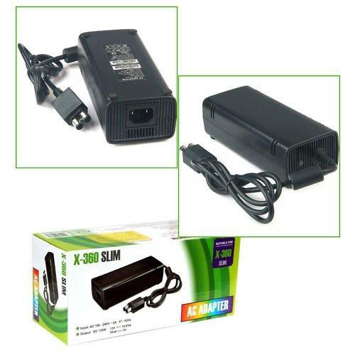 PENERGY Compatible XBox 360S Slim Power Supply AC Adapter Power Brick 100-240V