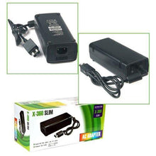 Load image into Gallery viewer, PENERGY Compatible XBox 360S Slim Power Supply AC Adapter Power Brick 100-240V
