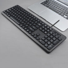 Load image into Gallery viewer, AOC KB100 Wired Silent 106 Keys Ergonomic USB Keyboard