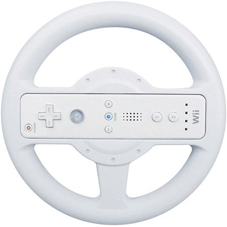 dreamGEAR Microwheel for Nintendo Wii - White