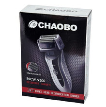 Load image into Gallery viewer, Chaobo RSCW-9300 Men's 3-Blade Shaver Electric razor