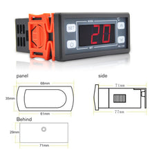 Load image into Gallery viewer, Ringder RC-112E Cool Heat ON/OFF Relay Switch Universal Digital Thermostat Temperature Controller
