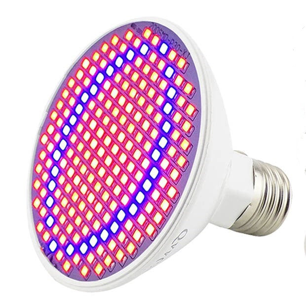 60 LED E27 3W Hydroponic Grow Light