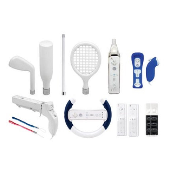 dreamGEAR 15-in-1 Player's Kit - Accessory kit - for Nintendo Wii