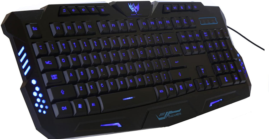 M200 USB Wired Tricolor Backlight Gaming Keyboard