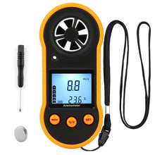 Load image into Gallery viewer, Handheld Pocket Anemometer Wind Speed Meter & Gauge Wind Meter Detector