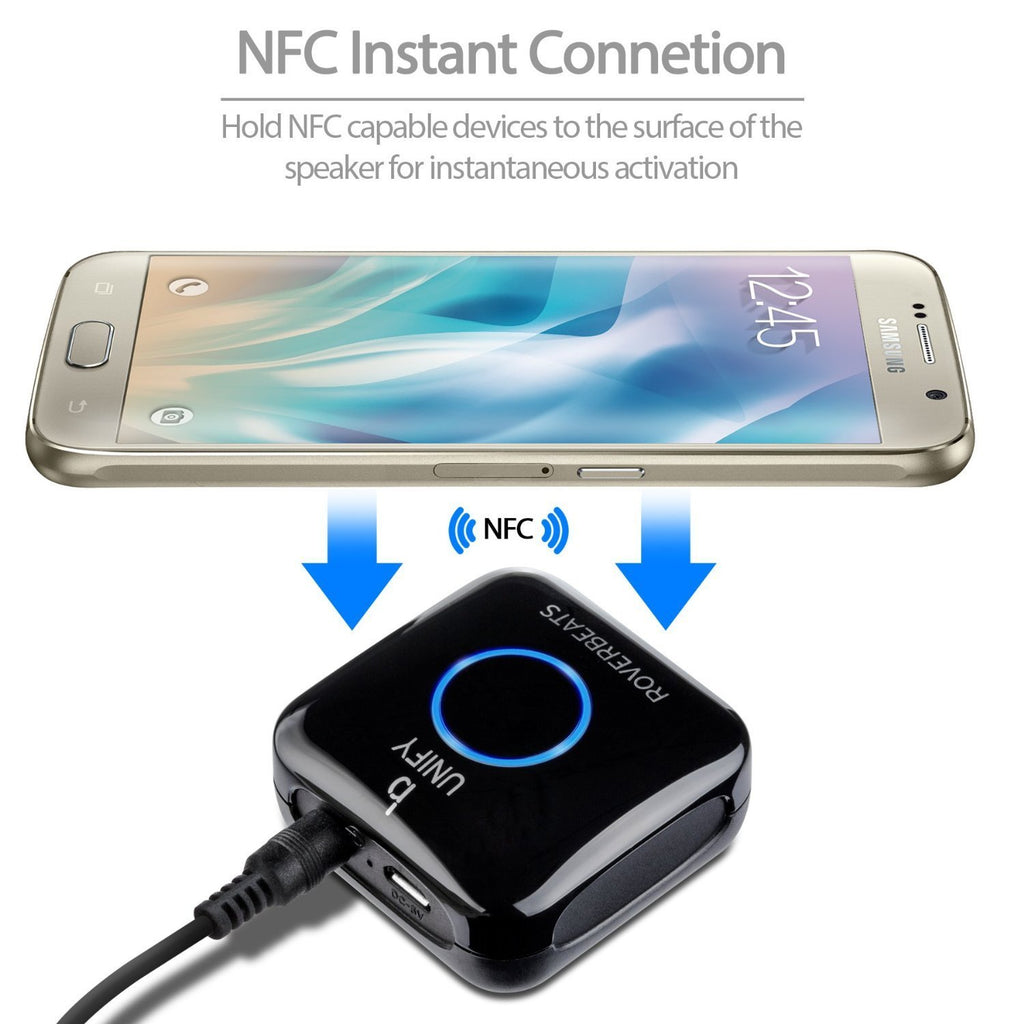 Etekcity Roverbeats Unify Wireless Audio Bluetooth 4.0 Receiver (NFC-Enabled)