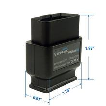 Load image into Gallery viewer, Veepeak OBDCheck BLE Bluetooth OBD2 Scanner for iOS & Android