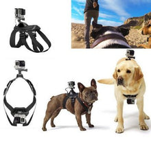 Load image into Gallery viewer, Dog Chest-Back Harness Camera Strap Mount For GoPro Hero 4/3+/3/2/1