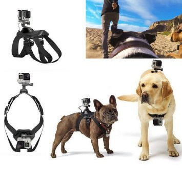 Dog Chest-Back Harness Camera Strap Mount For GoPro Hero 4/3+/3/2/1