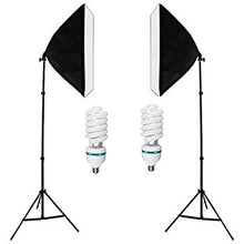 Load image into Gallery viewer, 135W Bulb 5070 Single Head Soft Light Box Two Lights Set