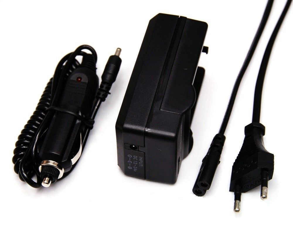Car & Desktop Battery Charger for Nikon EN-EL14
