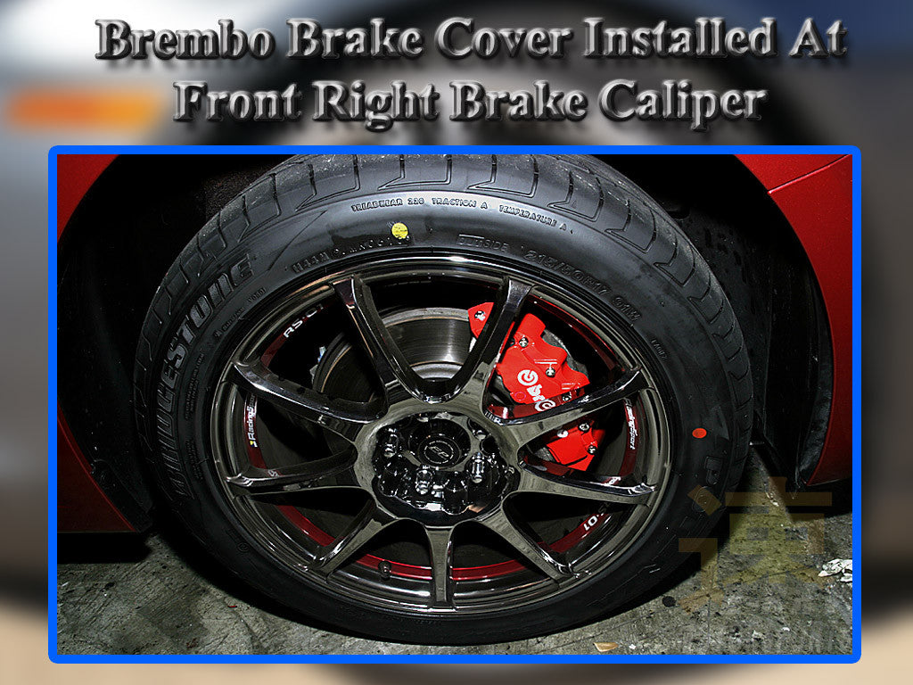 Universal Brake Caliper Covers - Awesome Imports - 3