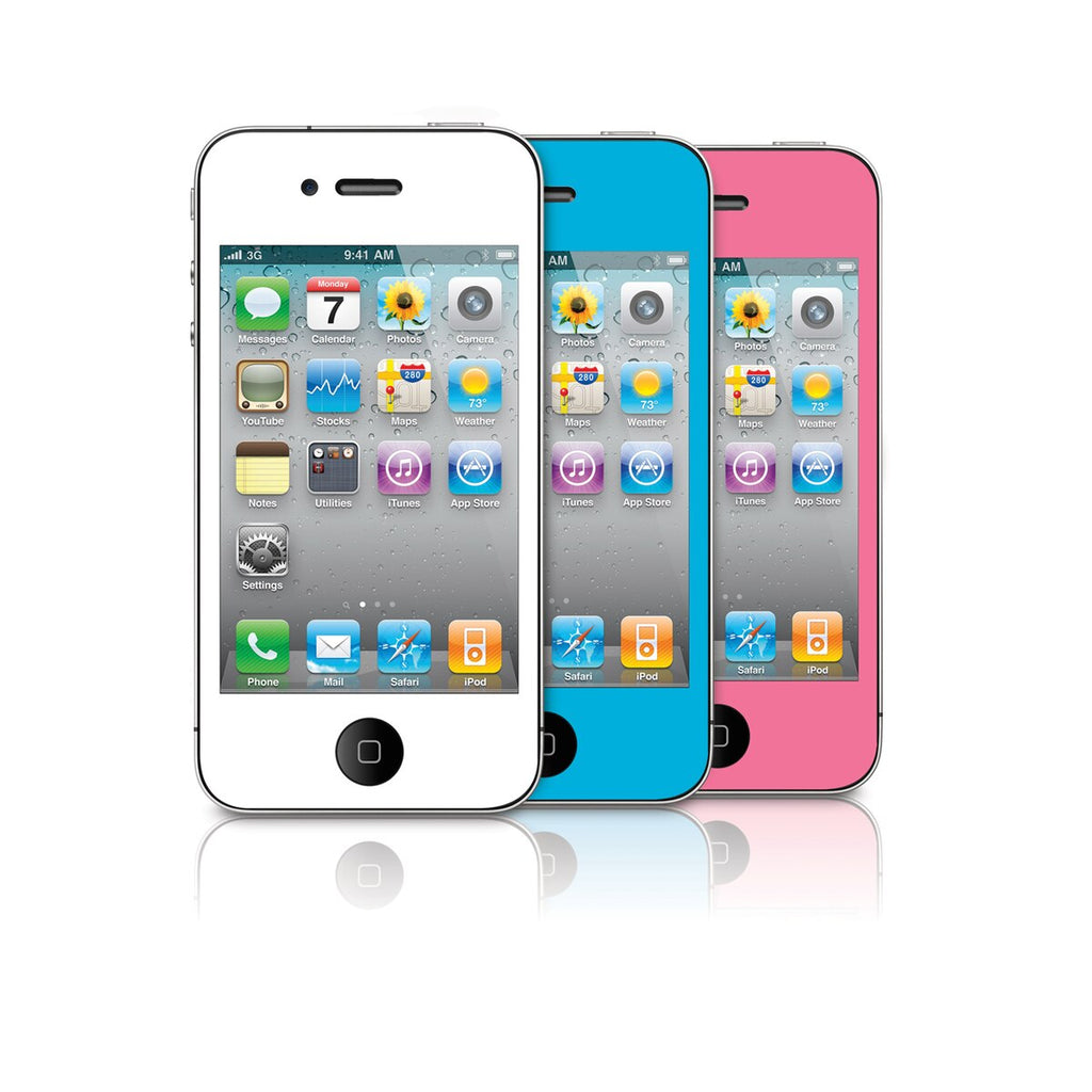 iSound Premium Color Screen Protectors for iPhone 4 / 4s