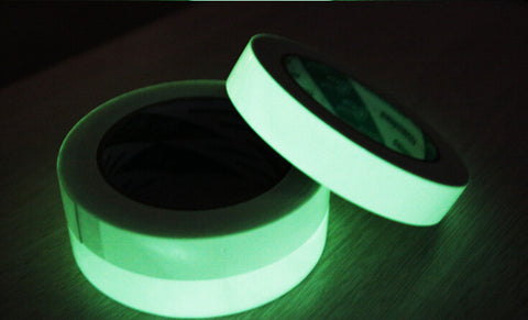 Glow in the Dark Tape: 1/2 in. x 30 ft. (Luminescent Lime Green) - Awesome Imports