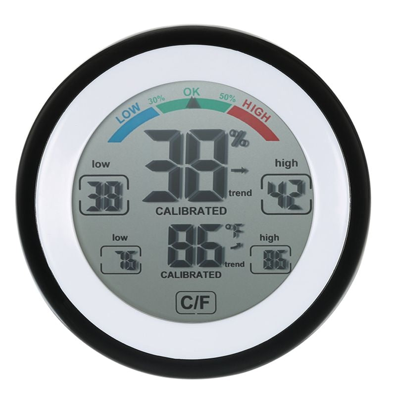 Digital LCD Thermometer Hygrometer & Humidity Meter