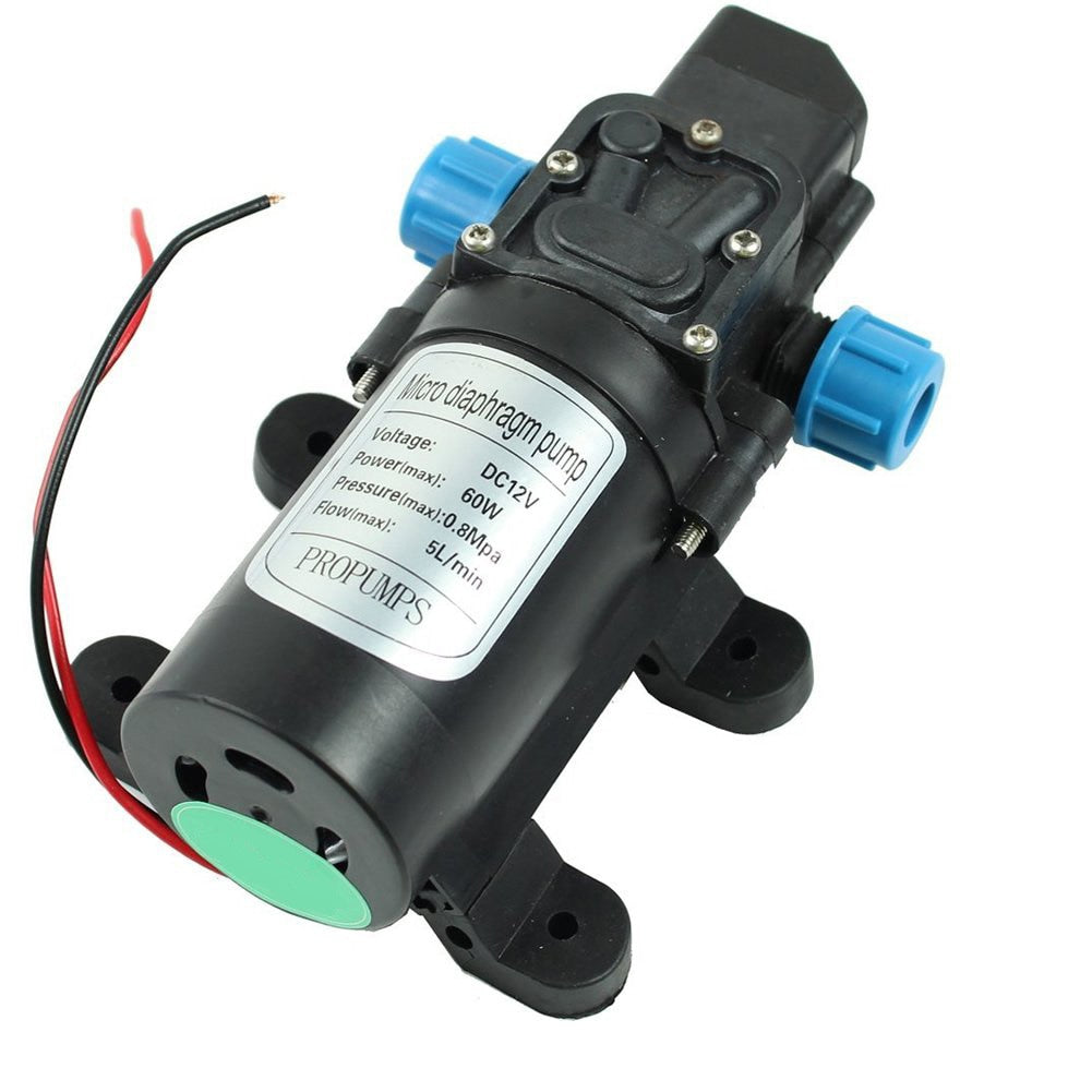 Bao Feng DC 12V 60W High Pressure Micro Diaphragm Water Pump Automatic Switch 5L/min