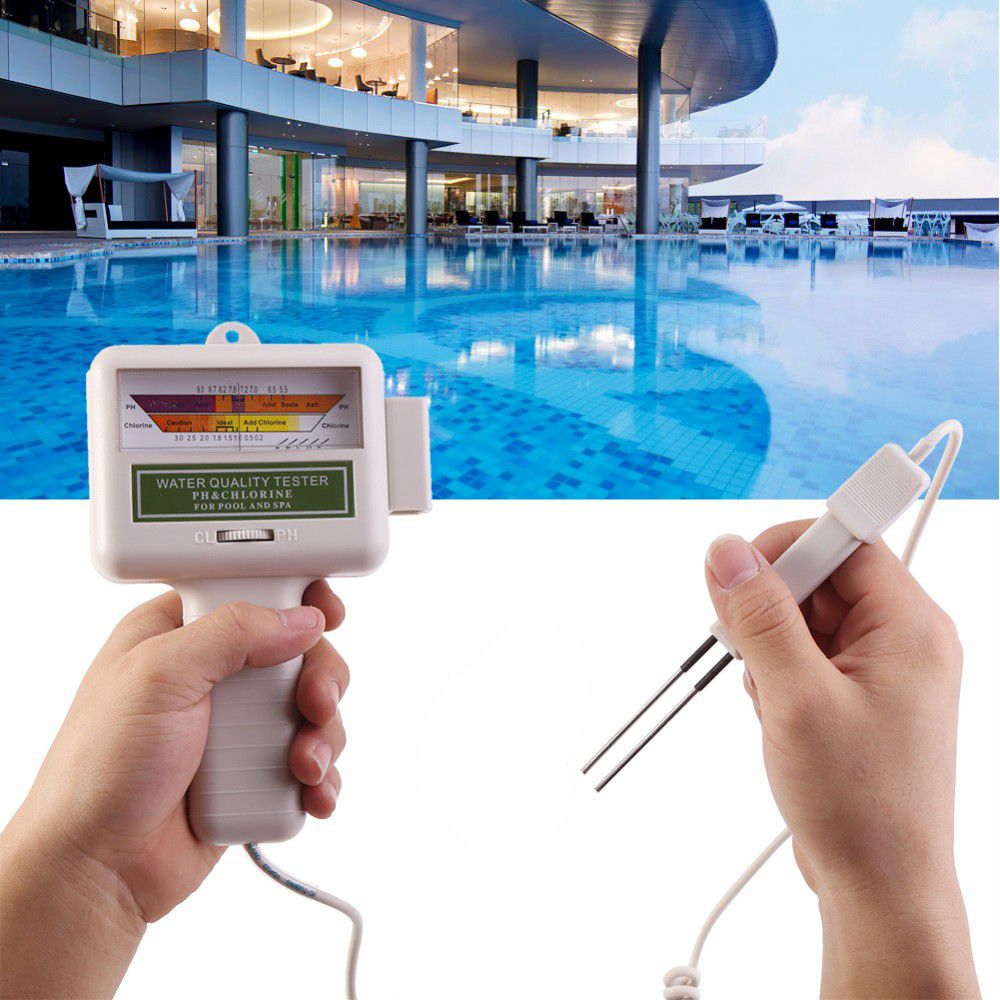 Calibeur PC-101 Portable Water Quality PH CL2 Chlorine Tester for Pool & SPA