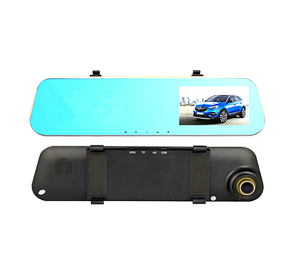Rearview Mirror Dual Channel Recorder Touch Screen