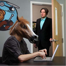 Load image into Gallery viewer, Horse Latex Mask - Awesome Imports - 3
