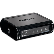 Load image into Gallery viewer, TRENDnet TE100-S5 Unmanaged 5-Port Fast Ethernet GREENnet Switch - USED