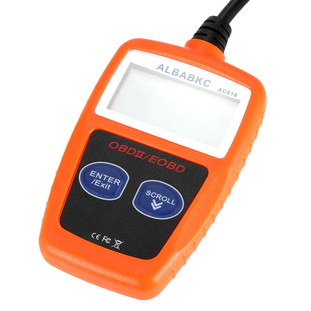 ALBABKC AC618 OBD Car Diagnostic Scan Tool Code Reader Scanner