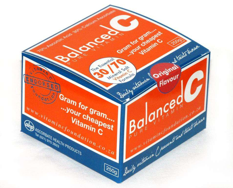 Balanced C Pure Vitamin - 250g - Awesome Imports - 1