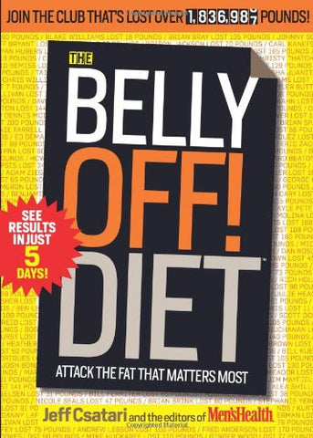 The Belly Off! Diet: Attack the Fat That Matters Most Paperback - Used - Awesome Imports