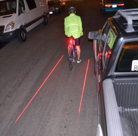 Bicycle LED Lane Indicator Back Light with flashing function - Awesome Imports - 2