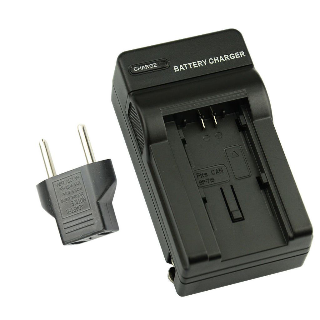 DC131 Battery Charger for Canon BP-709/ BP718/ BP727 Battery With EU Plug