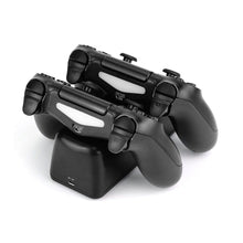 Load image into Gallery viewer, Dobe Dual Charging Dock for PS4 Wireless Controllers