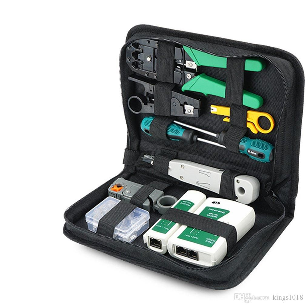Techme LAN14 Portable Ethernet Network Tool Kit Bag