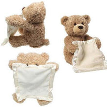 Load image into Gallery viewer, Plush Peek a Boo Talking Teddy Bear