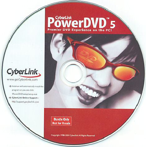 CyberLink PowerDVD 5 DVD Player Software - Awesome Imports