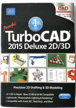Load image into Gallery viewer, TurboCAD 2015 Deluxe 2D/3D