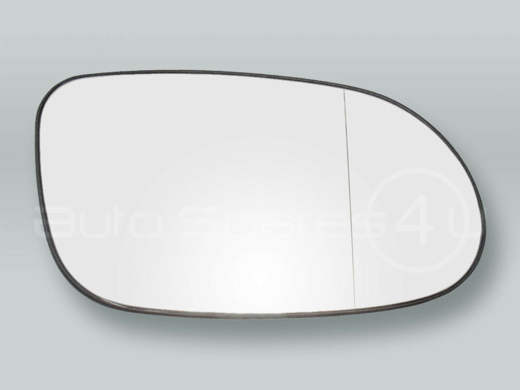 Motolab Heated Door Mirror Glass & Backing Plate for 1998-2004 Mercedes Benz SLK R170 - Driver Side