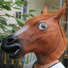 Horse Latex Mask - Awesome Imports - 1