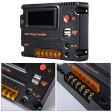 Load image into Gallery viewer, CMG-2420 20A 12V 24V PWM LCD Solar Charge Controller Control Switch